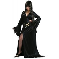 Elvira Adult Sexy Mistress of the Dark Vampire Halloween Costume