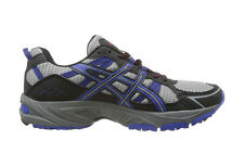 ASICS Men's Gel-Venture 4 Running Shoe Aluminum/Onyx/Navy T333N.7199