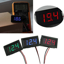 0.56inch LCD DC 0-30V LED Panel Meter Digital Accurate Voltage Voltmeter w/ wire