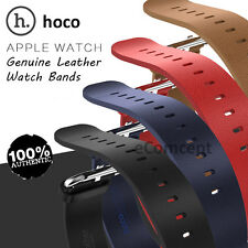 HOCO Genuine Leather Watch Buckle Band Strap+Adapter Belt for Apple Watch iwatch