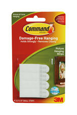 3M Command Picture Canvas Wall Hanging Strips Small Medium or Large