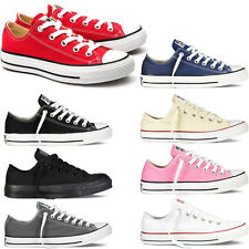 Converse Classic Chuck Taylor All Star Canvas Ox Low Top Sneaker Shoe All Colors