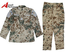 Military Special Force Army Tactical BDU Uniform Shirt Pants German Desert Camo