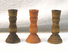 Mini Birch Wood Candlestick Style Chime Candle Holder Altar Ritual Spell