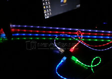 LED Light Micro USB Data Sync Charger Cable Cord For Android Mobile Phone Hot