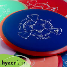 Axiom NEUTRON VIRUS *pick your weight and color* Hyzer Farm disc golf driver