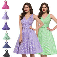 VICTORIAN Vintage Style 40s 50s Swing Pinup Rockabilly Party Prom Evening Dress