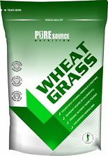 Pure Organic WheatGrass / Wheat Grass 100% Powder UK Soil Association Certified
