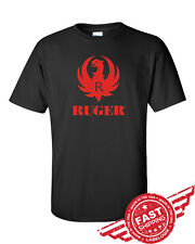 RUGER-BLACK-T-SHIRT-NEW-ALL SIZES AVAILABLE-SMALL TO 6XL
