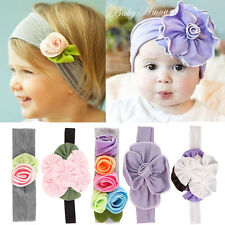 Lovely Baby Kids Girls Infant Toddler Headband Bow Flower Hair Band Headwear