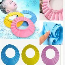 New Hot Baby Kids Shampoo Bath Bathing Shower Cap Hat Wash Hair Shield