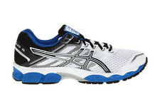 ASICS Men's GEL-Cumulus 15 Running Shoe,White/Black/Royal T3C0N.0199