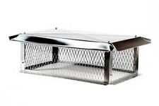 Multi-Flue Stainless Steel Top Mount Chimney Caps - Various Sizes Available