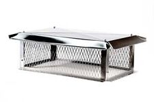 Multi-Flue Top Mount Stainless Steel Chimney Cap - Available in Various Sizes