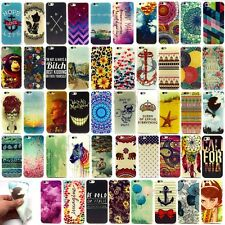 Hot Rubber Painting Patterned TPU Silicone Gel Case Cover for iphone 4 5 6 6Plus