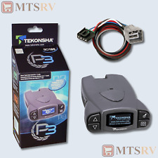 Tekonsha P3 RV Trailer Electric Brake Controller w/Plug-N-Play OEM Harness