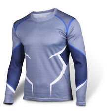 X-Men Quicksilver T-shirt Avengers Age of Ultron Cosplay Costumes