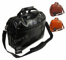 High Quality Genuine Leather Pierre Cardin Laptop Business Bag Work Briefcase