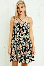 URBAN OUTFITTERS FLORAL STRAPPY DRESS SIZE XS S M BNWOT 8 / 10 / 12