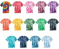 NEW! Tie Dye Mens T-Shirt S, M, L, XL, 2X, 3X, 4X Blank Tye Dyed Tee Spiral