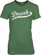 Womens Drunk T Shirt funny St Patricks Day Drinking Tee for Women