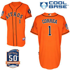Carlos Correa Houston Astros MLB Replica Jersey (Sizes M-3XL)