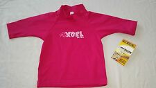 NEW Toddler Girls Swim Shirt UV 50+ Sun Protection PINK Size 1T 2T 3T 4T by XCEL