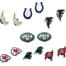 Pkg 2 Jibbitz NFL Football Shoe Charms for Reebok Crocs - Officially Licensed