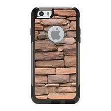 OtterBox Commuter for iPhone 5S SE 6 6S 7 Plus Stacked Stone Wall