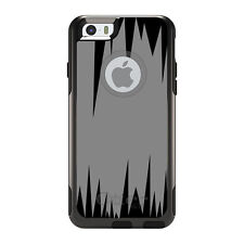 OtterBox Commuter for iPhone 5 5S SE 6 6S Plus Grey Black Spikes
