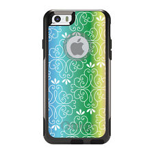 OtterBox Commuter for iPhone 5 5S SE 6 6S Plus Blue Green Yellow Pink Gradient