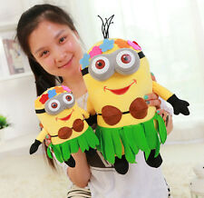 Despicable Me Moi moche et méchant Minions Minion Grass Skirt Peluche Poupée Toy