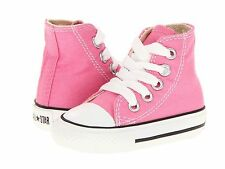Girl's Infant / Toddler Converse 7J234 Chuck Pink Taylor All Star Hi Top B.New