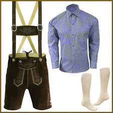 Oktoberfest Lederhosen Package / Set German Bavarian Trachten Short Outfit - P77