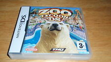Zoo Tycoon for Nintendo DS,Lite,DSi,3DS - fast shipping