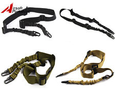 Tactical 2 Two Point Bungee Rifle Gun Shotgun Sling Military Airsoft Hunting