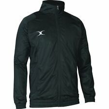 Gilbert Rugby Adults-Youth High Collar Long Sleeve Saracen Top Track Sportswear