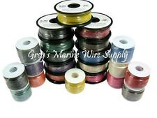 """16 AWG Gauge Tinned Marine Primary Wire """"Pick Two""""  2 x 50 Foot Reels"""