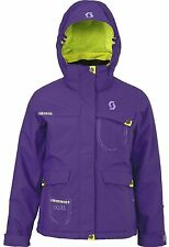 Scott  Crystalline Girls Winter Ski Snow Jacket Purple RRP £110 V Sizes BNWT