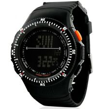 Luxury Military Countdown Chronograph Sport Date Digital LED Silicone Men Watch