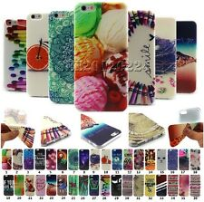 For Apple iPhone Cute ColorPattern Soft Rubber TPU Painted Skin Case Cover Back