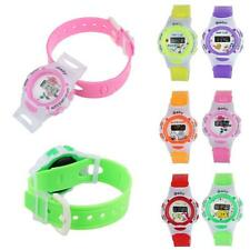 Cartoon Students Baby Boy Wrist Sport Watch Digital Girl Rubber Band Watch Gift