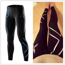 SPORTS 2XU women lady Compression Running Thermal GYM Tights pants