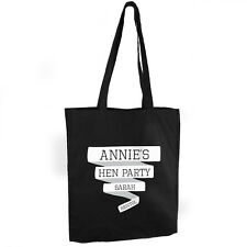 PERSONALISED COTTON BAG CHOOSE FROM 7 DESIGNS MUM SISTER BIRTHDAY CHRISTMAS