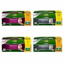 Depend Protective Underwear For Men&Women, All Sizes Maximum Absorbency Discreet