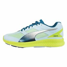 Puma Ignite Mesh Wns Blue Green Womens Racing Running Shoes Sneakers 18858502
