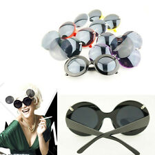 Trend Fashion Retro Lady Gaga Style Mickey Mouse Flip Up Round Shade Sunglasses