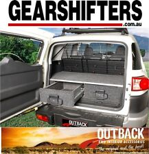 FJ SERIES TOYOTA LANDCRUISER 2009 ON OUTBACK ROLLER DRAWERS 4WD 4X4 DRAW SYSTEM