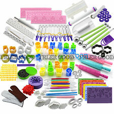 DIY Cake Fondant Sugarcraft Icing Plunger Cutters baking Tool mold Cookies Mould