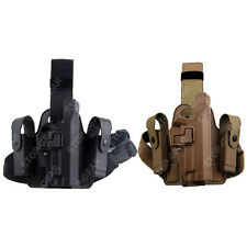 Tactical Serpa Right Leg Thigh Holster w/ Magazine Pouch for SIG SAUER P226 P229